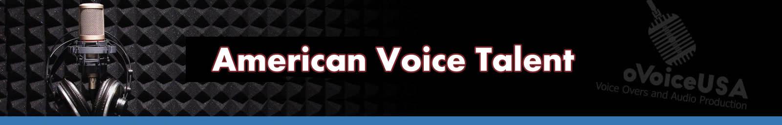 American Voice Talent | American Voice Recording Service | ProVoice USA
