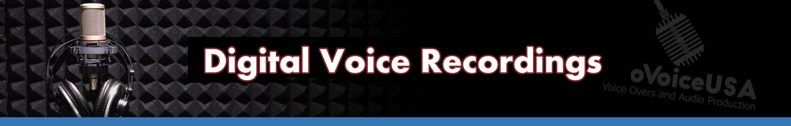 Digital Voice Recordings | American Voice Recording Service | ProVoice USA