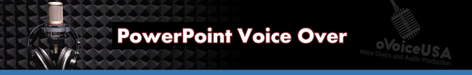 PowerPoint Voice Over Header