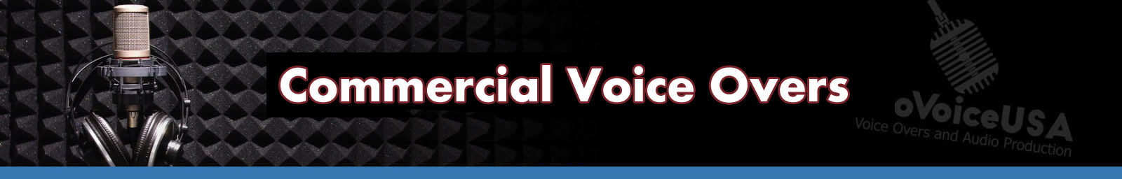 Commercial Voice Overs header
