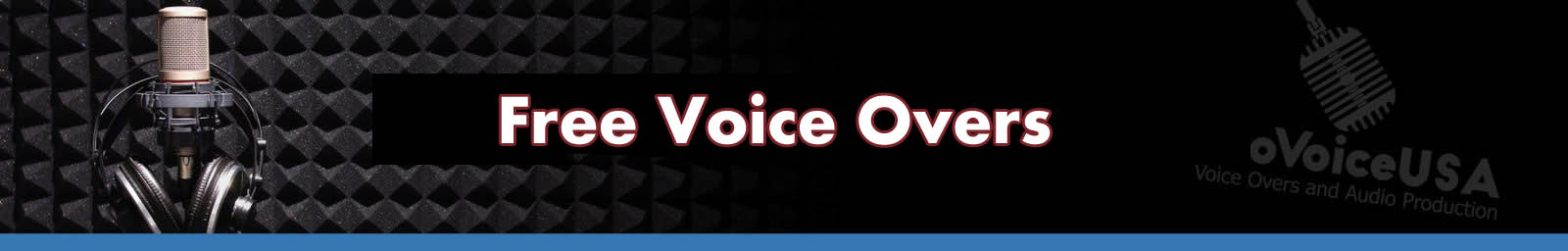 Free Voice Overs   American Voice Recording Service   ProVoice USA