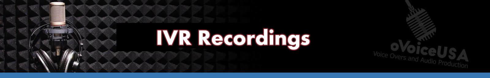 IVR Recordings Header