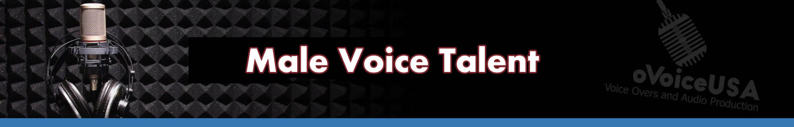 Male Voice Talent | American Voice Recording Service | ProVoice USA