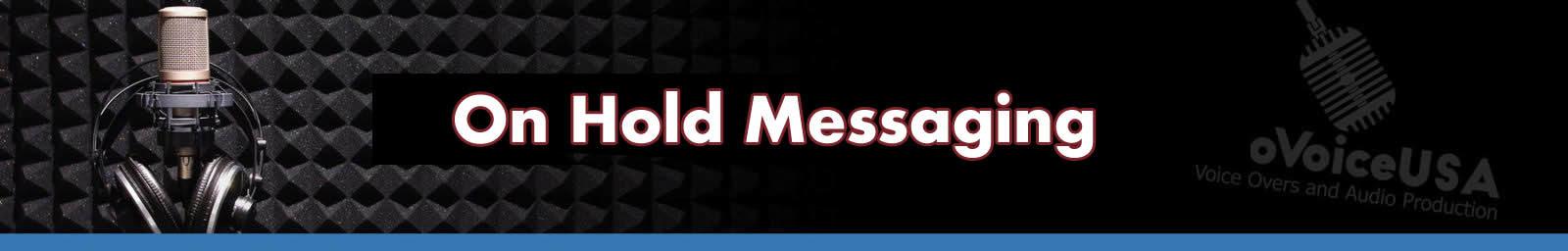 On Hold Messaging header