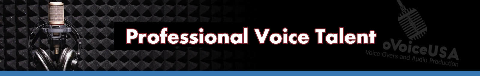 Voice Talent header