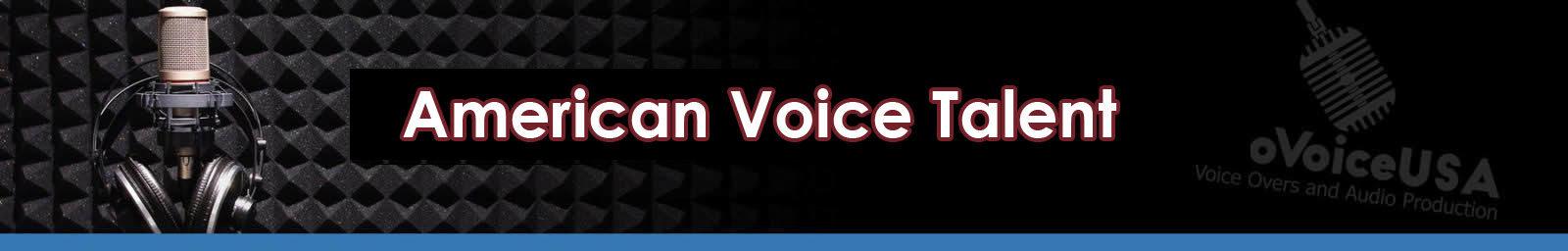 American Voice Talent